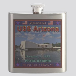 USS Arizona Flask